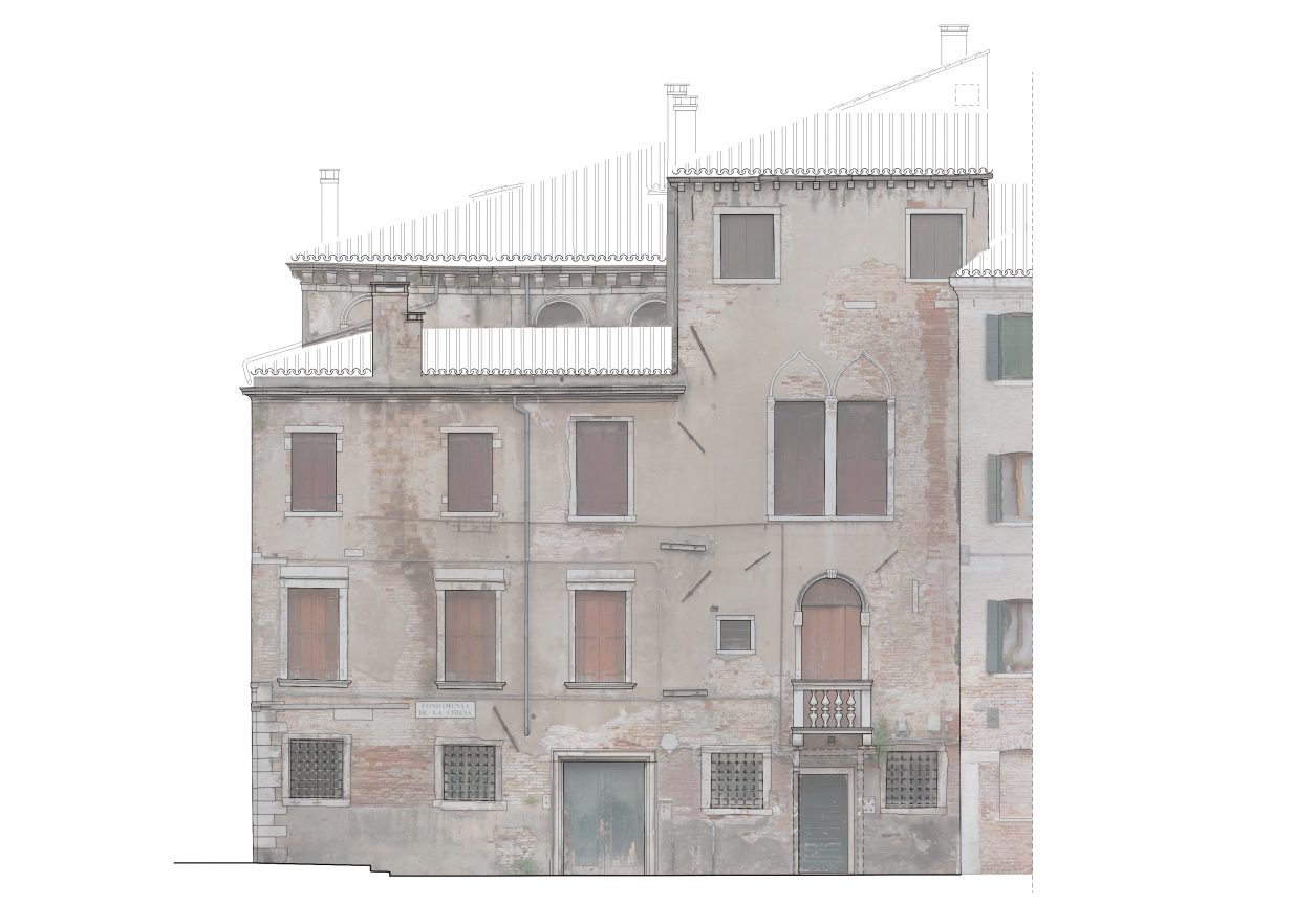 Rilievo fotogrammetrico facciata